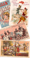 Click photo to see larger pic of Patent Medicine Trade Cards