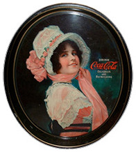 Click photo to see larger pic of Tin Soda Advertising Tray