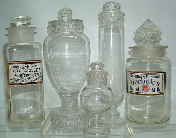 Apothecary Candy Soda Fountain Jars