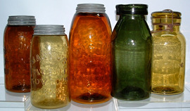 Click photo to see larger pic of Fruit Jars
