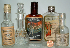 Click photo to see larger pic of Miniatures & Samples Bottles