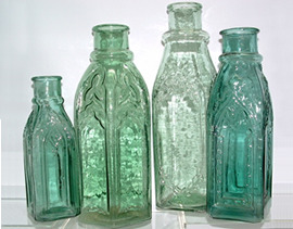 Click photo to see larger pic of Collectible Pickle Bottles