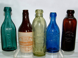 Click photo to see larger pic of Collectible Soda Bottles