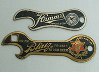 Click photo to see larger pic of Pre-Prohibition Beer Bottle Openers