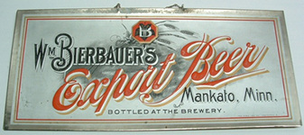 Click photo to see larger pic of Pre-Prohibition Beer Sign