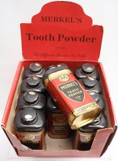 TOOTH POWDER CASE & 12 TINS