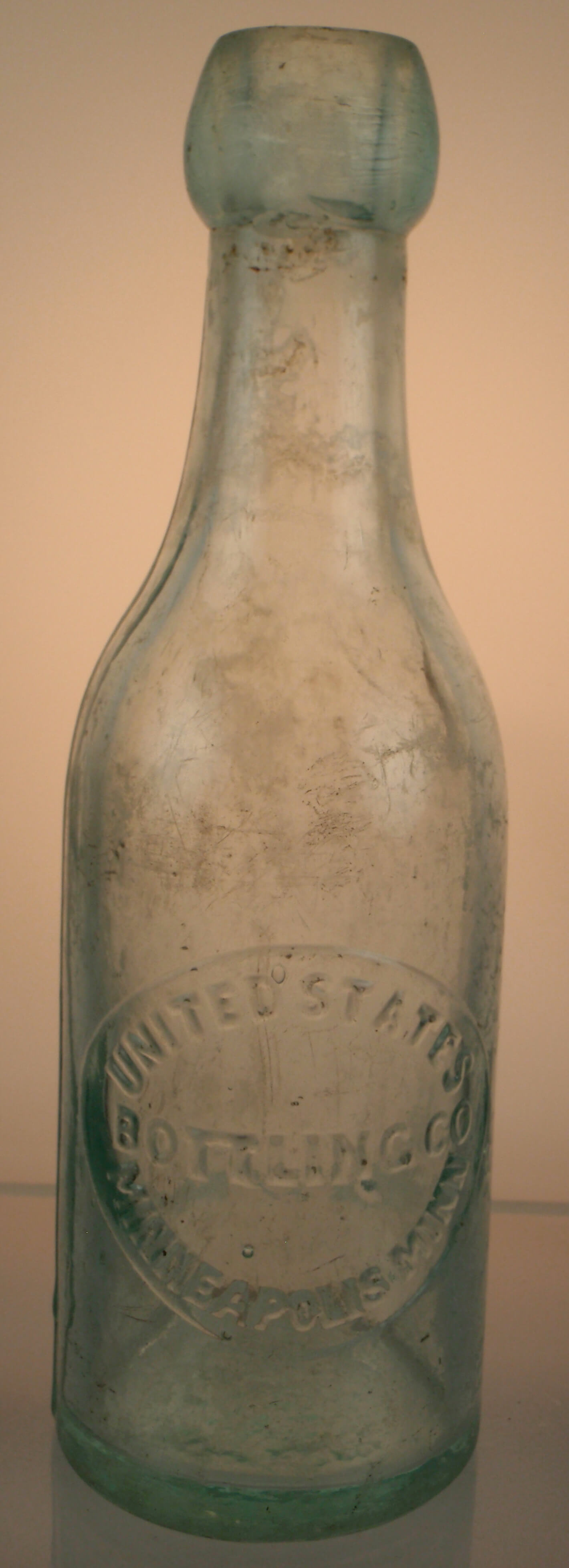 Pre-Prohibition United States Bottling Company Blob-Top beer Bottle